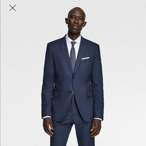 Zara Man Suit navy size 38